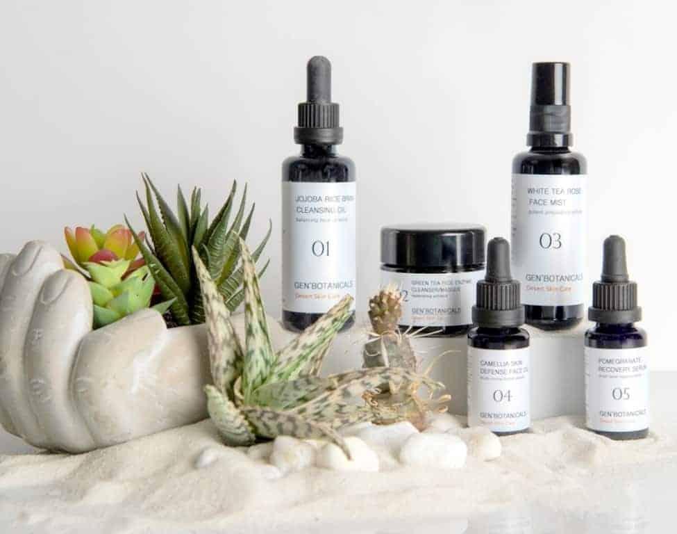 desert skin care for sun damaged skin at genbotanicals